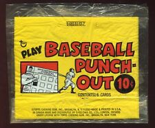1967 Topps Punch-Out Baseball 10-Cent Cello Pack Wrapper VERY RARE