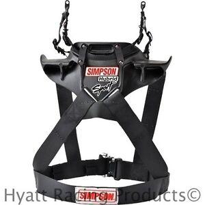 Simpson Hybrid Sport Head & Neck Restraint - SFI Approved / All Sizes