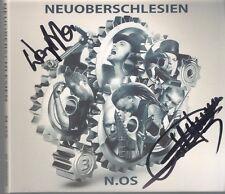 "NEUOBERSCHLESIEN N.OS SIGNED AUTOGRAF OBERSCHLESIEN OOP CD ""POLISH RAMMSTEIN"""