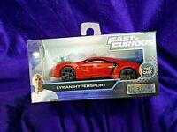 Fast & Furious Lykan Hypersport Collectors Series Red Die-Cast 1:32 Scale