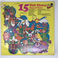 15 Walt Disney Favorites LP Vinyl Record Original Pressing Pickwick Players