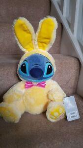 Disney Store Stitch Easter Bunny 2021 Medium Soft Toy
