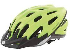 """Casque de vélo Casque """" Safety jaune néon """" LED gr. M 54-58CM jeunes"""