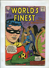 WORLD'S FINEST #100 (4.0) THE DICTATOR OF KRYPTON CITY! 1959