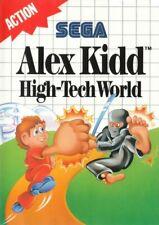 SEGA Master System Spiel - Alex Kidd in High-Tech World mit OVP