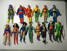 WGSH Retro Mego 8 Inch Action Figure Lot of 14 Figures Loose New In Polybag ftc