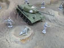 1/87 Only Zylmex / Roco Compatible WWII Russian T34/85 Not Airfix Soldiers #570X