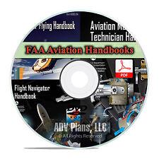 Airplane Helicopter Flight Manuals FAA Pilot's & Mechanics Handbooks, DVD CD F14