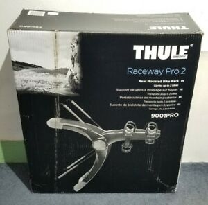 Thule Sweden Raceway Pro 2 Trunk Mount Bike Rack (New/Open Box)