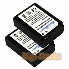 BATTERY x 2 for Samsung BP-1030 NX200 NX210 NX1000 NX300 Camera TWO BATTERIES