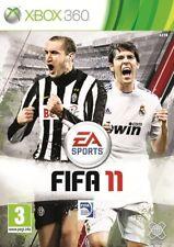 MICROSOFT XBOX 360 FIFA 11 PAL ITALIANO COMPLETO Gioco Game CALCIO