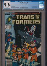 MARVEL COMICS TRANSFORMERS #36 1988 CGC 9.6 WP NEWSSTAND EDITION 1st SKY LYNX