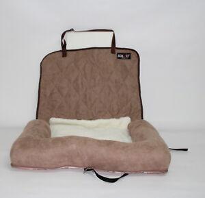 Solvit Autositz Hundebett Hundeautobett Grösse S für Hunde bis 12 kg Car Cuddler