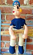 Vintage KING FEATURES SY INC Rubber Headed & Strong Arms Popeye The Sailor Man!