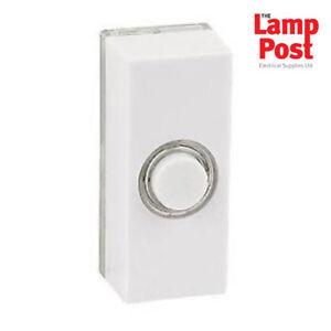 Friedland D534W Lightspot Illuminated Door Bell Push - White