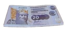 More details for r £20 clydesdale bank note commonwealth heads of government 1997 f/bd 920814