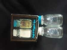 Vintage Ball Mason Salt and Pepper Shakers c.1980 UNOPENED