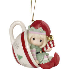Precious Moments 5th Annual Elf Ornament Cheers To A Sweet Holiday New 2020