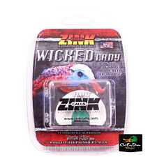 ZINK CALLS THUNDER RIDGE SERIES WICKED LADY W-CUT DIAPHRAGM TURKEY MOUTH CALL