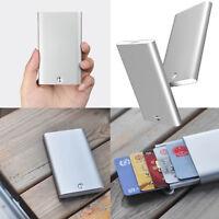 Aluminum Credit Card Holder Automatic Pop Up Case Business Men Wallet for Xiaomi