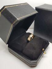 9 Ct Oro Amarillo Natural Diamante Anillo de bodas de nuestra gama de Dubai Bridal, Talla K