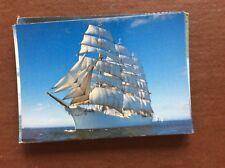 ca7 postcard unused ship sedov