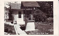 Canada USA Karleen's Story Book Shop - Well old unused real photo postcard