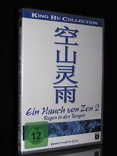 DVD EIN HAUCH VON ZEN 2 - REGEN IN DEN BERGEN - DIRECTORS CUT KING HU COLLECTION