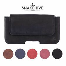 Snakehive Apple iPhone 4/4S Vintage Leather Belt Pouch Loop Utility Phone Case