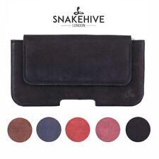 Snakehive Apple iPhone 4/4S Vintage Bolsa De Cinturón De Cuero Estuche de teléfono de utilidad de bucle