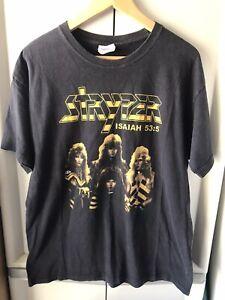 Vintag Stryper Isaiah 53:5 Concert  Tour Shirt Size L