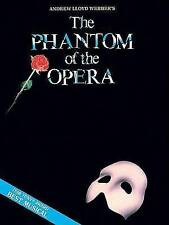 Phantom of the Opera - Souvenir Edition: Piano/Vocal Selections (Melody in the P