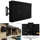 Outdoor BLACK  LCD LED TV Cover Waterproof Television Protector 32