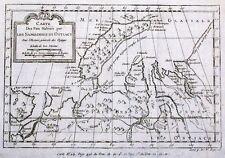 Antique map, Carte des pais habites par les Samojedas et Ostiacs