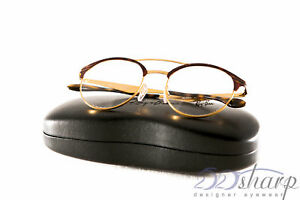 Ray Ban Eyeglasses-RB 3545V 2917 51 GOLD HAVANA