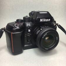Nikon F4 35mm Film Camera AF NIKKOR 24mm f2.8 D lens kit JAPAN + nice condition