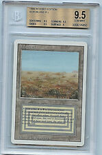 MTG Revised Scrubland Dual Land GEM Mint BGS 9.5 Card WOTC Magic 5850