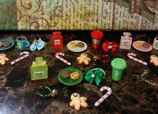 Littlest Pet Shop LPS 🎄 Custom CHRISTMAS Accessories Lot 🎄Cookies for Santa