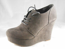 MATERIAL GIRL (DANITY GREY BOOTE ) WOMENS SIZE 8 BRAND NEW !