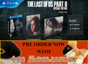 SPECIAL LIMITED EDITION steelbook THE LAST OF US PART II 2 PLAYSTATION PS4 PS5
