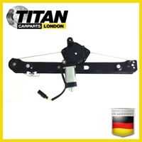 For BMW3 Series E46 98-2005 Rear Left Side With Motor Electric Window Regulator