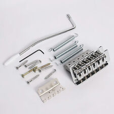 Set Chrome Tremolo Bridge assembly For Fender Strat Stratocaster Electric Guitar