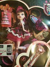 NEW!! Draculaura Sweet1600- Monster High-Mattel 2011