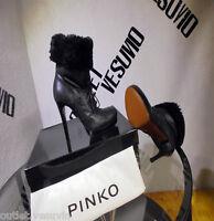 PINKO TRONCHETTI CON PELLICCIA WOMEN N°39 SCONTO - 60%.SOTTOCOSTO.SALDI