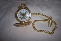 NEW gold eagle pocket watch from american mint