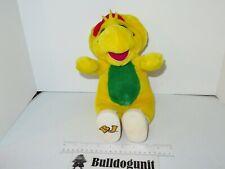 "13"" Vintage BJ Barney & Friends Plush Doll Stuffed Toy Tennis Shoes 1994"