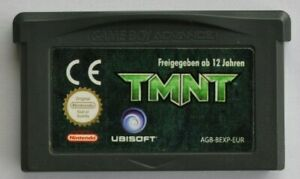 Nintendo Gameboy Advance SP TMNT