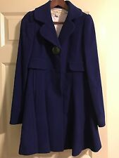 Laundry by Design Skirted Flared Wool Blend Coat, New Without Tag