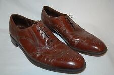 Awesome! VTG FLORSHEIM ROYAL IMPERIAL brown wingtip oxford DRESS SHOES 13 A