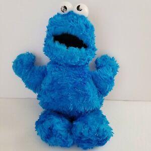 "GUND 2002 Plush Sesame Street Cookie Monster 12"" Bean Filled Toy"